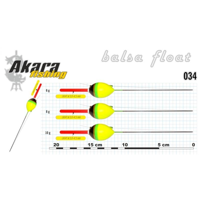 Ujuk Akara 034 6g 19.5cm 1tk
