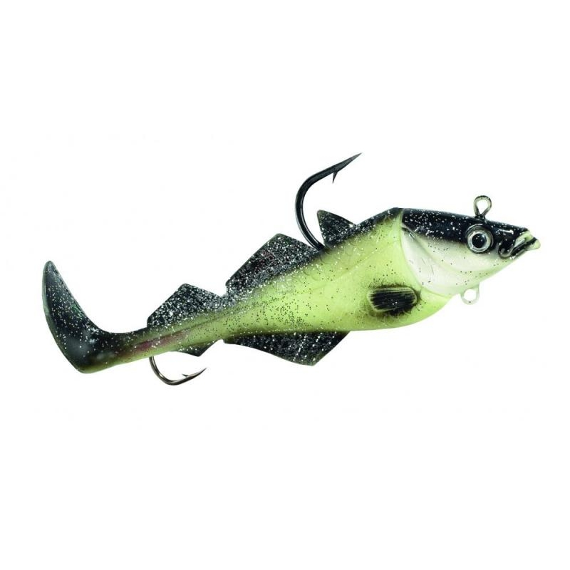 Komplekt BALZER MAD SHAD Coalfish Luminous 200g 18cm
