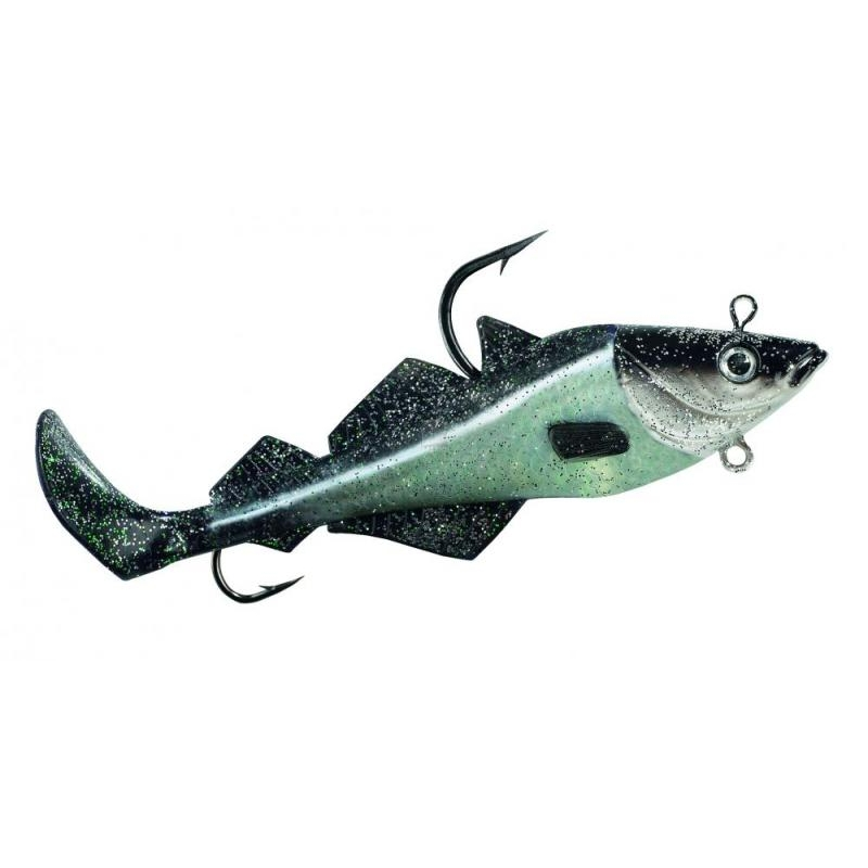 Komplekt BALZER MAD SHAD Coalfish Natural 400g 26cm