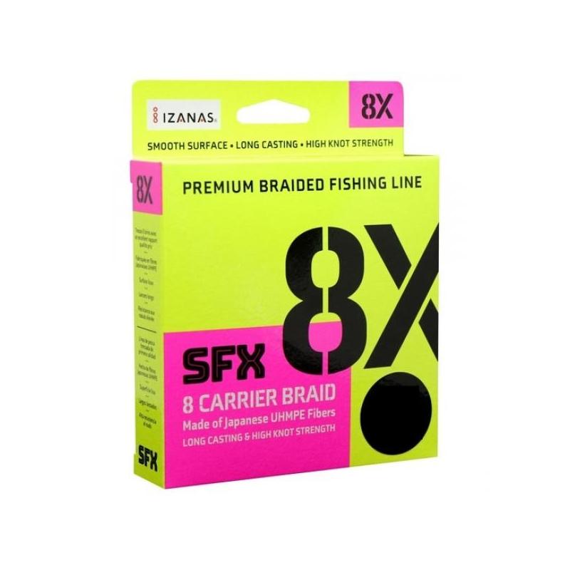 Nöör Sufix SFX 8X 0.128mm 7.3kg 135m roheline