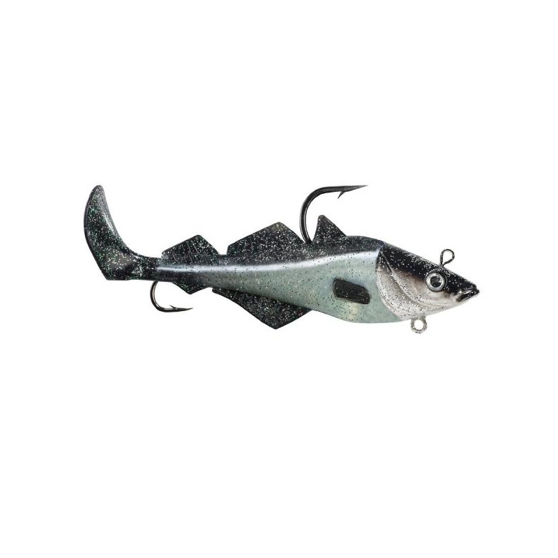 Komplekt BALZER MAD SHAD Coalfish Natural 300g
