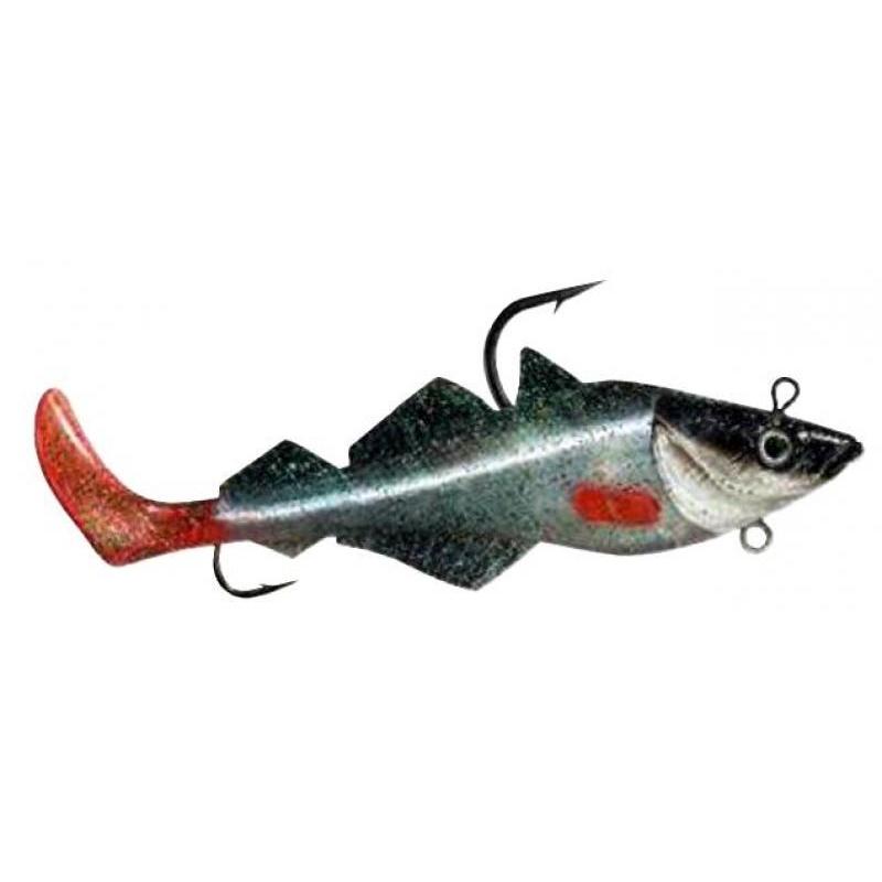 Komplekt BALZER MAD SHAD Coalfish Red Fin 300g