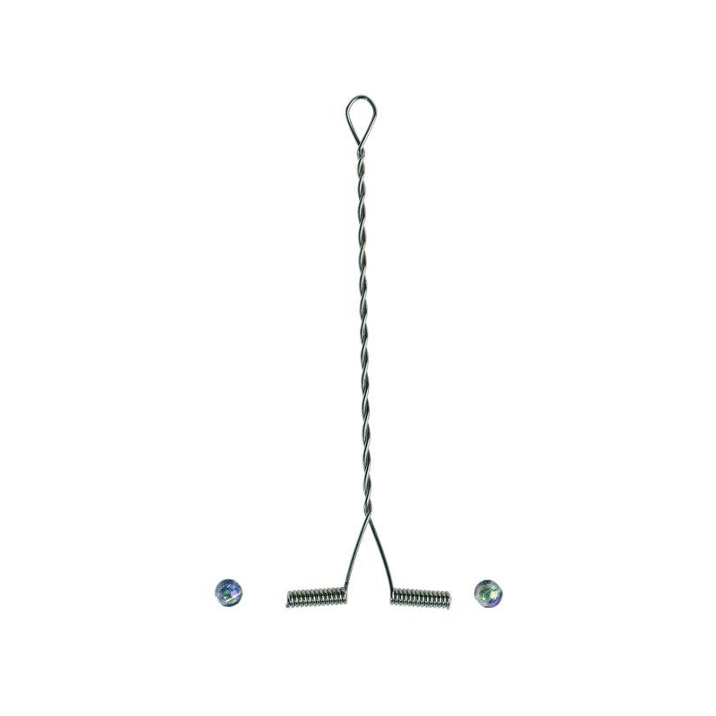 Lipsuhoidja Balzer 6cm 5tk koos pärlitega (õlg)