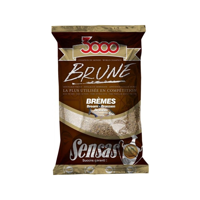 Sensas 3000 Brune Bream Latikas (pruun) 1kg