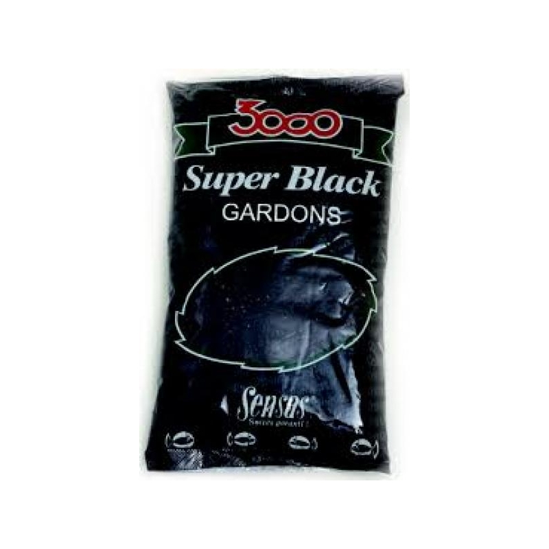 Sensas 3000 Super Särg (must) 1kg