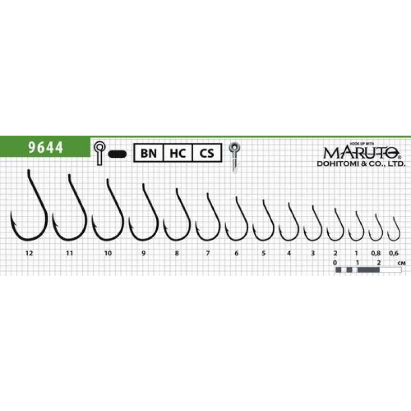 Konksud Maruto 9644 Carp Pro #10 BN 6tk