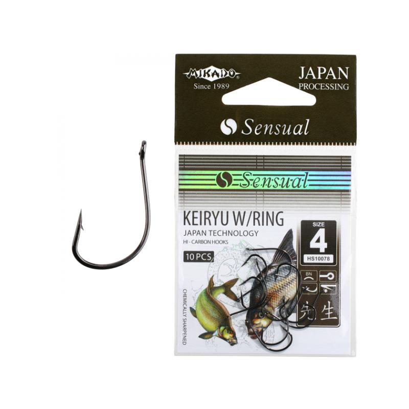 Konksud Sensual Keiryu w/Ring BN #12 10tk