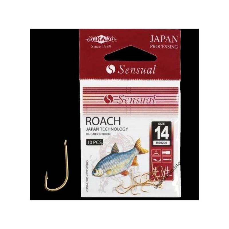 Lipsud Sensual Roach G #10 0.14mm 70cm 10tk