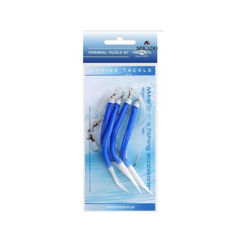 Piprarakendus Gummi Makk Rig 4x2/0 BLUE