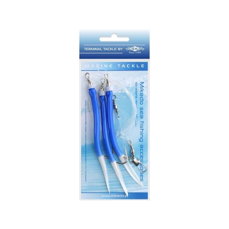 Piprarakendus Gummi Makk Rig 3x4/0 BLUE