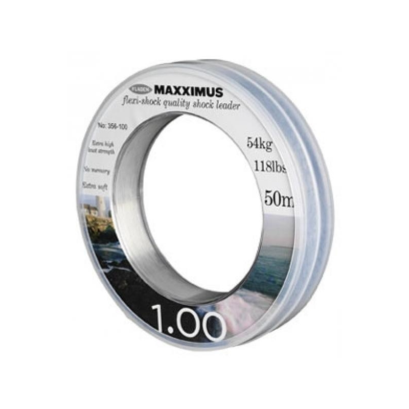 Maxximus Flexi-Shock leader 50m 0.80mm 35kg
