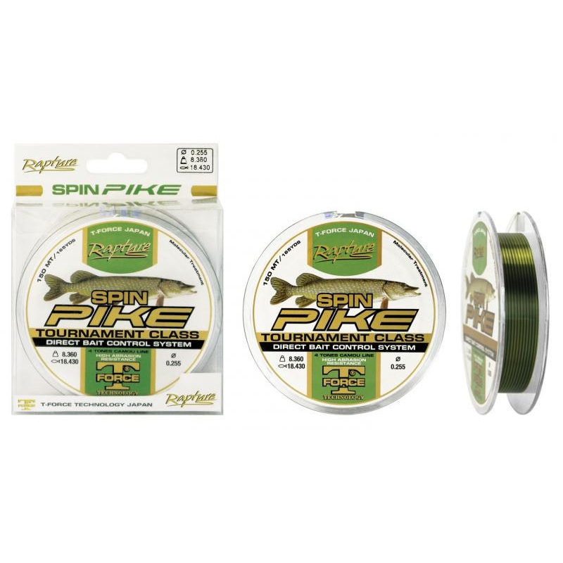 Tamiil Trabucco T-Force Pike 0.255mm 8.36kg 150m