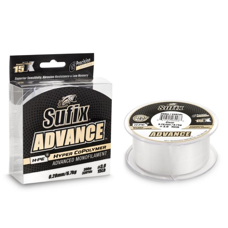 Tamiil Sufix Advance 0.38mm 13.6kg 150m