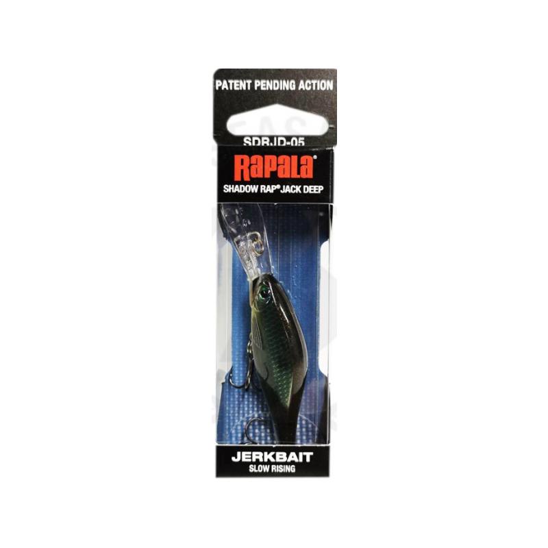 Rapala Shadow Rap Jack Deep CBN 5cm/6g kuni 3m