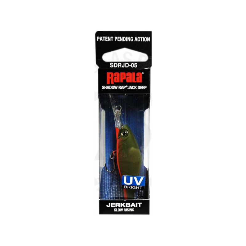 Rapala Shadow Rap Jack Deep GAU UV 5cm/6g kuni 3m