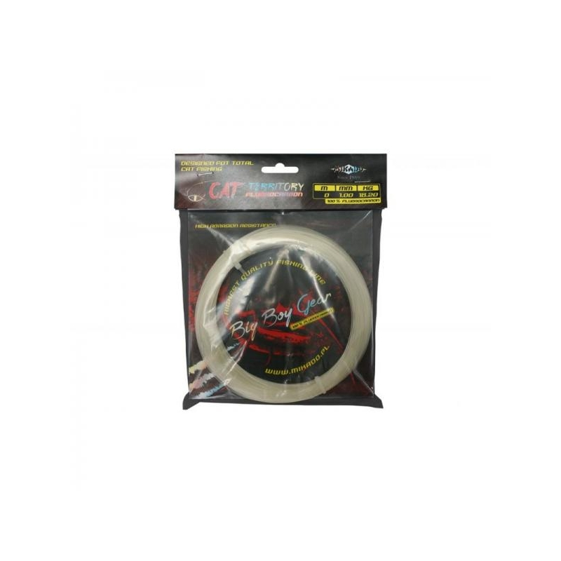 Fluorocarbon Leader Cat Territory 30m 0.75mm 37kg