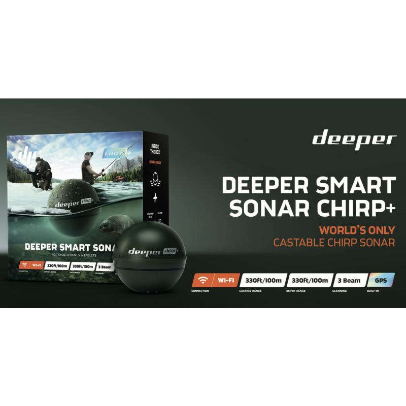Wifi kalaleidja Deeper Fishfinder Chirp+