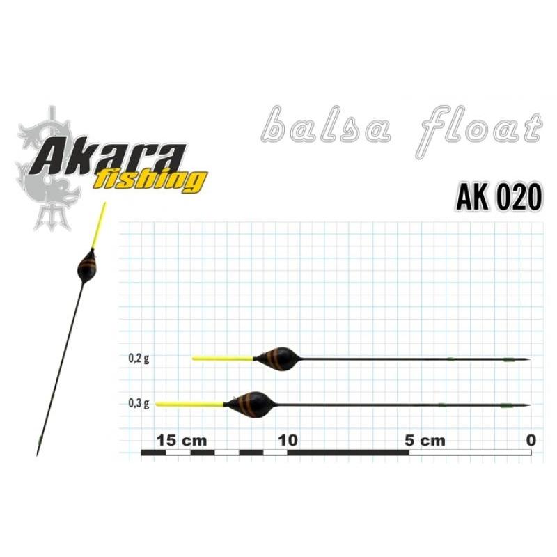 Ujuk Akara balsa 020 0.2g 14cm