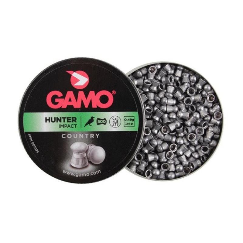 Gamo õhupüssikuulid Hunter Metal cal 4.5 0.49g 500tk