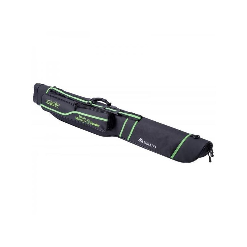 Kõva ridvakott Mikado Method Feeder 1 vahega 150cm roheline