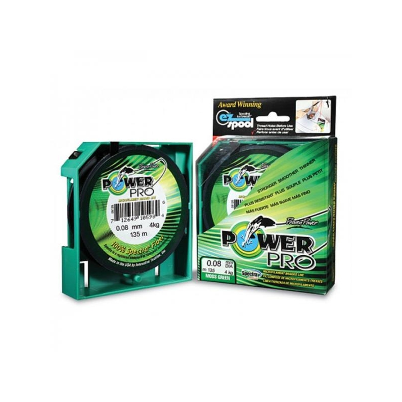 Nöör Power Pro 0.23mm 15kg 275m roheline