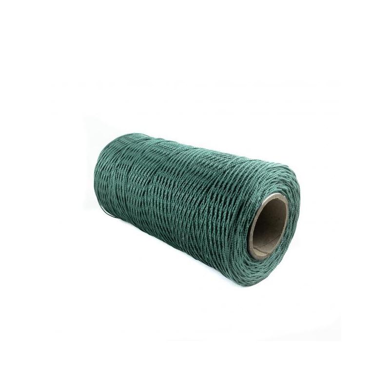PP 1/2 monofil punutud nöör 2,0mm ROHELINE 100m