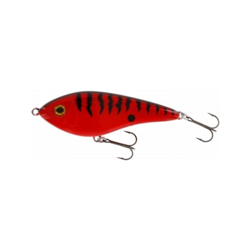 Jerk WESTIN Swim Glidebait 10cm 31g Low Floating Red Tiger