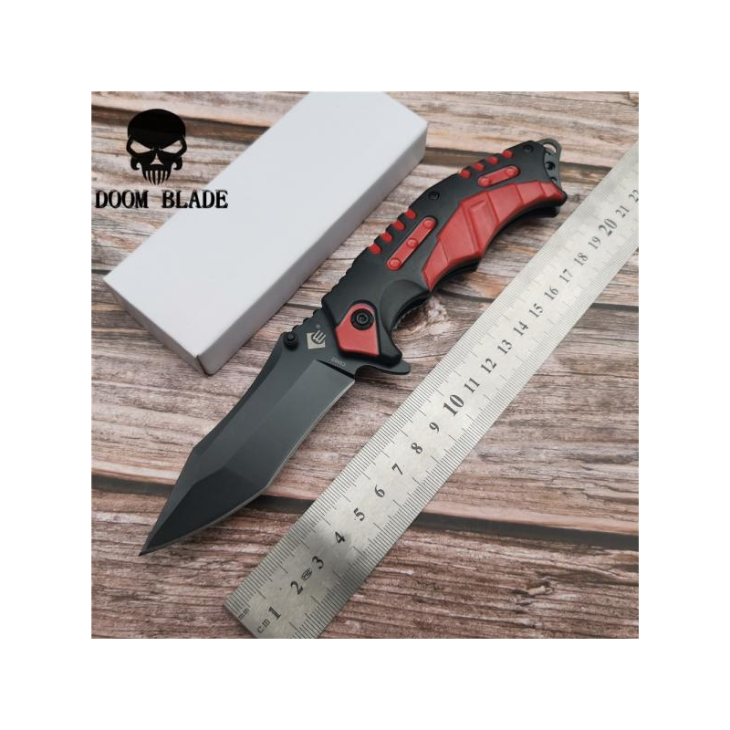 Taskunuga 5CR15MOV Camping RED 205mm