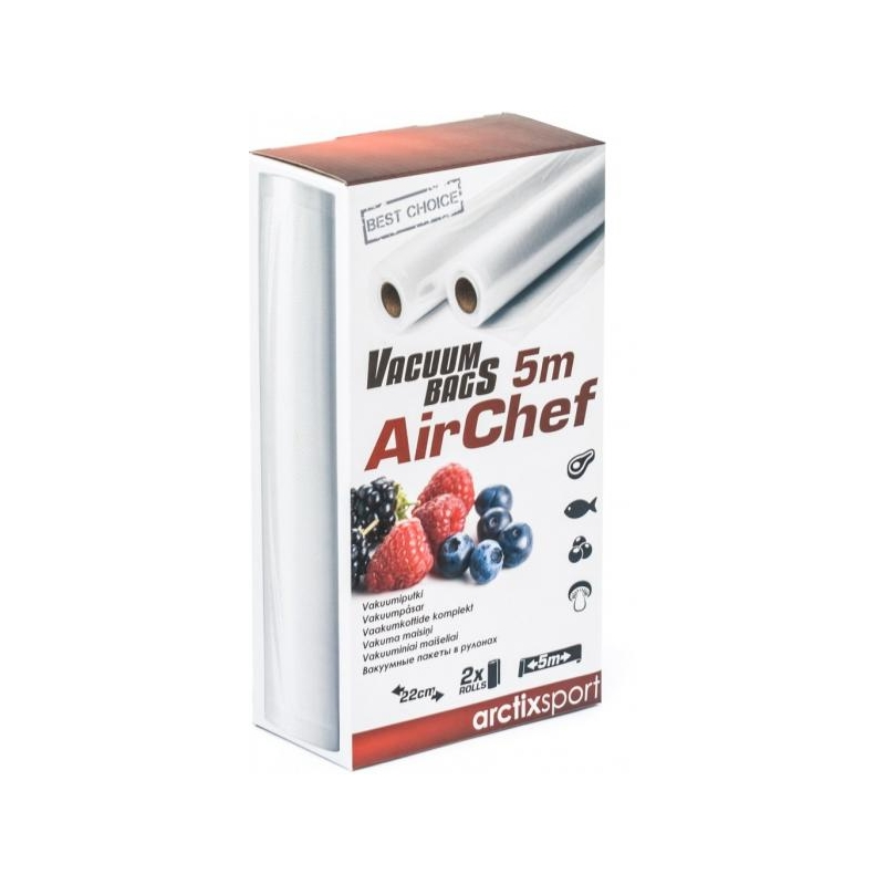 Vaakumsukk ArctixSport AirChef 22x500cm 2tk