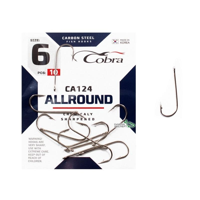 Konksud Cobra Allround CA124 #2 10tk
