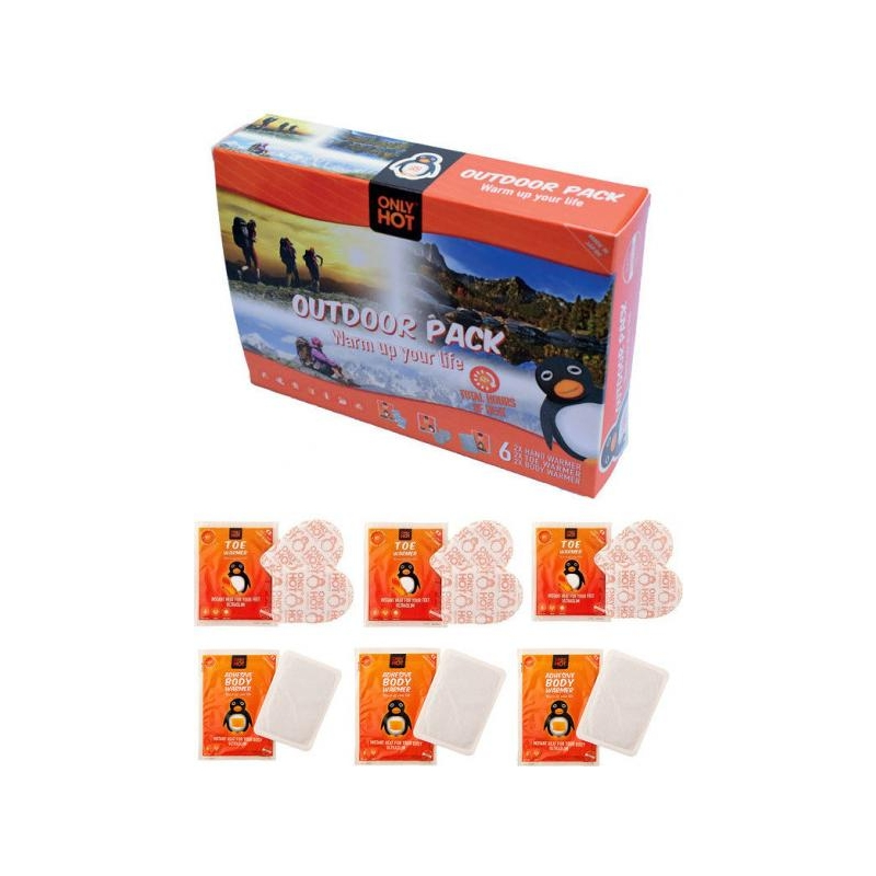Only Hot Outdoor Pack (3 varba ja 3 keha)