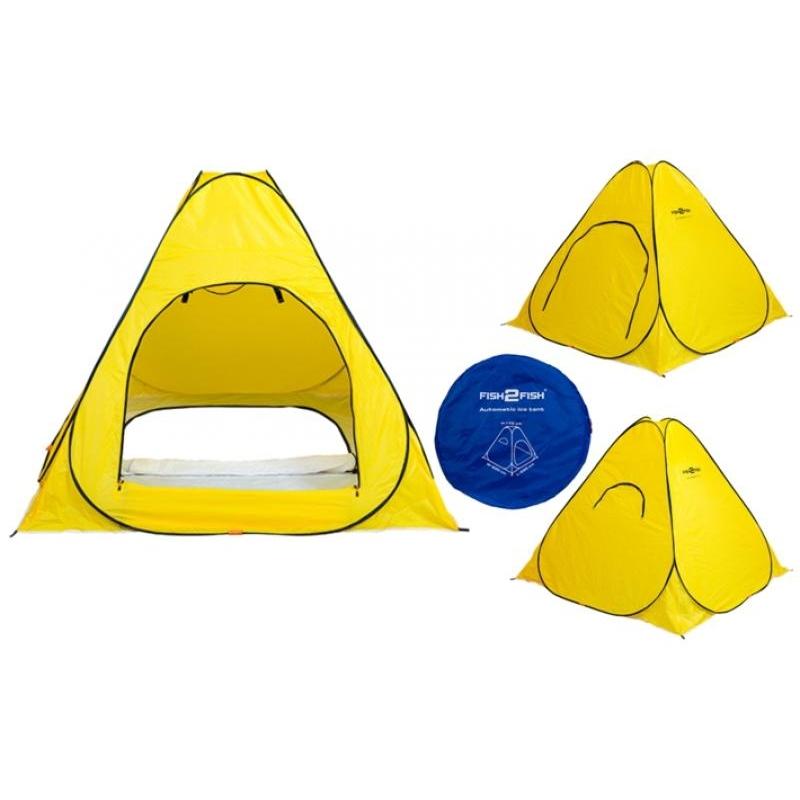 Talitelk automaatne Fish2Fish Standard (220x220x170cm 3.5kg värv: kollane)