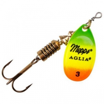 Mepps Aglia Fluo Tiger/Gold #2 4.7g