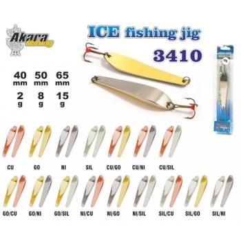 Talilant «Ice Jig» 3410 50mm 8g NI/GO