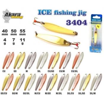 Talilant Ice Jig 3404 40mm 4g värv: NI/GO