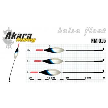 Ujuk Akara balsa NM 015 6g 19cm