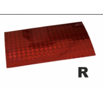 Holograafkleeps R punane 8x12cm 1tk