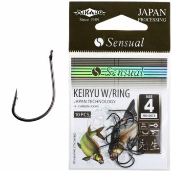 Konksud Sensual Keiryu w/Ring BN #4 10tk