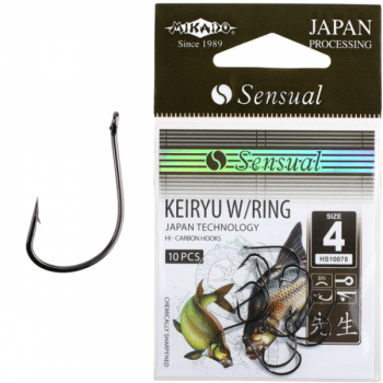 Konksud Sensual Keiryu w/Ring BN #6 10tk