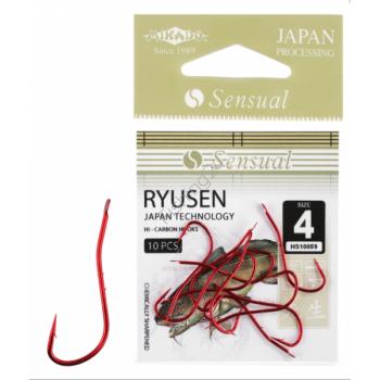 Konksud Sensual Ryusen w/Ring RED #6 10tk
