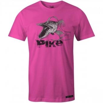 T-särk Angry Skeleton Pike roosa L