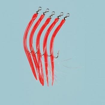Piprad Rubber Mac #6/0 Red 5tk