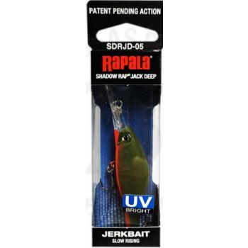 Rapala Shadow Rap Jack Deep 5cm/6g kuni 3m