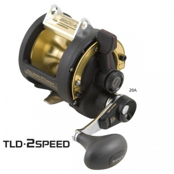Shimano TLD 20II ASCM 2-speed
