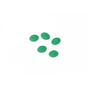 Pärlid Ellipsoid 4x6mm 0.8 Rohelised 25tk