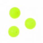 Pärlid Fluo neoonroheline 10mm 10tk