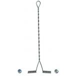 Lipsuhoidja Balzer 12cm 5tk koos pärlitega (õlg)