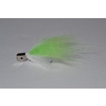 SpinTube Minnow Brass White/Chart 5g