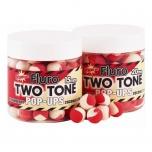 Boilid Carp-Tec Strawberry ja Coconut Cream 15mm Fluro Two Tone Pop Ups 90g