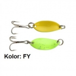 Trout Campione Mini 22mm 1.4g Fluro Green/Yellow